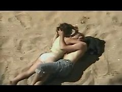 Couple, Beach, Voyeur audience