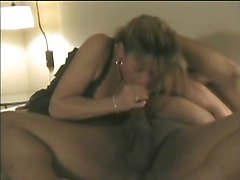 Milf, Fat, Milf fucks sons friends