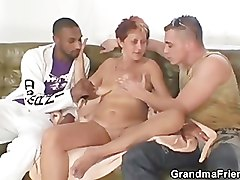Step mom takes a huge cock