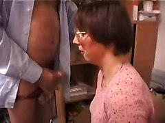 Ugly, Ass, Ugly mature glasses facial