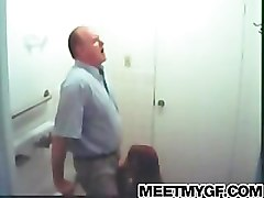 Bath, Bathroom, Uncle john gets blowjob sarah