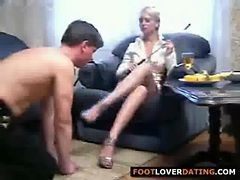 Bdsm, Feet, Fat girl dominates young girl
