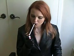 Smoking, Leather, Bdsm leather