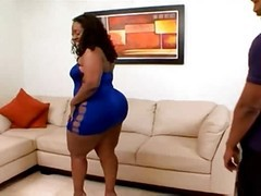 Ebony, Bbw, Dp big ass