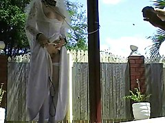 Whore, Bride, Wedding upskirt