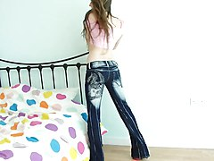 Jeans, Tight, Jeans girl fucked