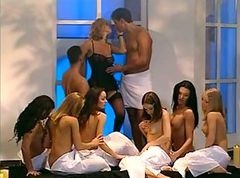Group, Italian, Shemale group sex