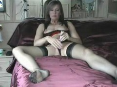 Amateur, Beauty, Amateur milf sucks huge dick