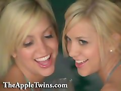 Twins, Erotic, Erotic lesbian clothes stripping