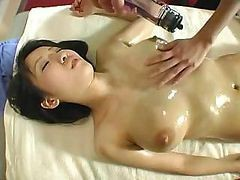 Asian, Japanese, Anal massage