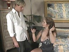 Milf, Busty asian milf and black