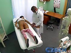 Czech, Doctor, Czech girls get paid for sex