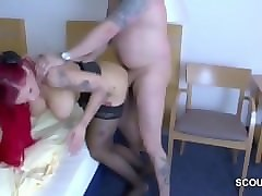 German, Milf, Two beautiful butts get banged