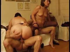 Anal, French, Mature loves anal