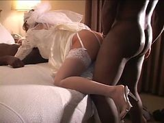 Bride, Cuckold, Milf wedding