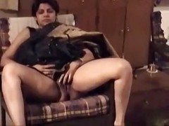 Anal, Indian, Indian aunt threesome