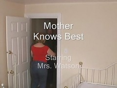 Busted jacking off mom