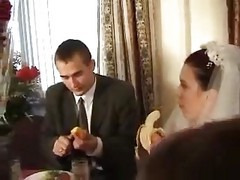 Bride, Russian, Real wedding porn