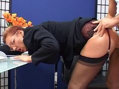 Ass, Secretary, Secretary seduce