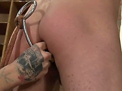 Masturbation, Jerking, Gay boy tied