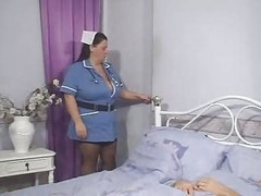 Nurse, Nurse taking sperm sample