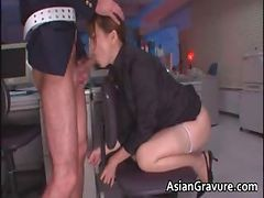 Asian, Blowjob, Secretaries