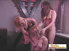 Slave, Tied up girls get fucked hard