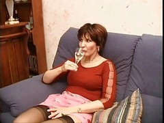 Stockings, Milf, Milf stockings masturbation