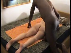 Wife, Massage, Oiled ass massage