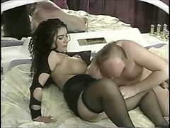 Black, Club, Solo milf in stockings