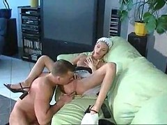 Masturbation, Jerking, Jerk off encouragment maids
