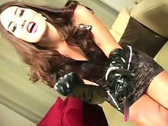 Instruction, Masturbation, Handjob in rubber gloves