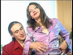 Masturbation, Jerking, Mother and son sex game