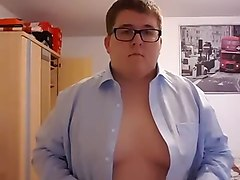 Chubby, Strip, Hot bbw chubby strip tease