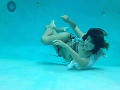 Underwater, Young girls underwater
