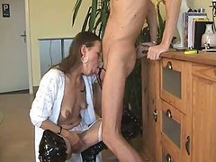 Deepthroat, Wife, Wife deepthroat webcam