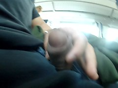 Blonde, Flashing, Caught wanking on the train