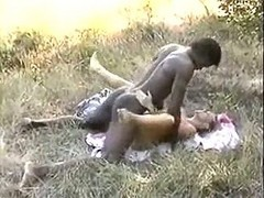 African, French, Cuckold licking