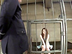 Asian, Beauty, Masturbation in jail