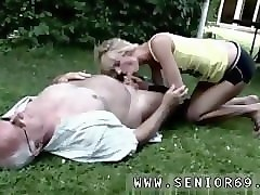 Anal, Game, Old man fucked anal