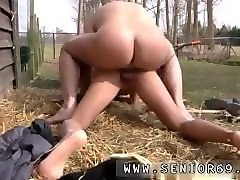 Blonde, Teen, Mom threesome husband and son