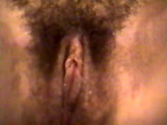 Hairy, Wife, Slow close up pussy and cock