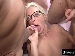 Bus, German, German milf and young