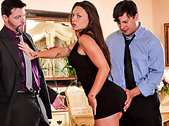 Wife, Seduced, Husbands boss fucking his wife