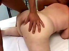 Anal, Swallow, Granny and cock
