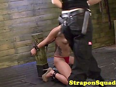 Strapon, Sybian, Daughter punished by mom