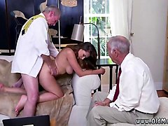 Teen, Old Man, Old man with asian