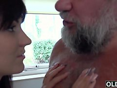 Babe, Swallow, Old man asian