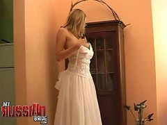 Bride, Russian, Virgin wed