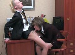 Office, Crossdresser, Hidden cam office